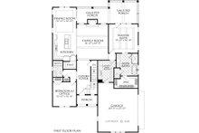 Farmhouse Floor Plan - Main Floor Plan Plan #927-1002