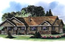 House Plan Design - Ranch Exterior - Front Elevation Plan #18-1035