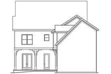 Craftsman Exterior - Rear Elevation Plan #419-237