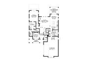 Contemporary Style House Plan - 3 Beds 2.5 Baths 2492 Sq/Ft Plan #48-993 Floor Plan - Main Floor