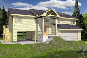 House Design - Beach Exterior - Front Elevation Plan #117-527