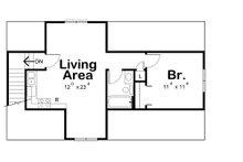Traditional Floor Plan - Upper Floor Plan Plan #20-2309