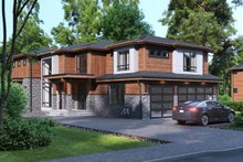 House Plan Design - Traditional Exterior - Front Elevation Plan #1066-58