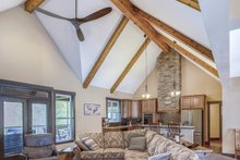 Dream House Plan - Craftsman Interior - Family Room Plan #929-1040