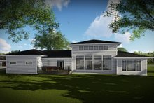 Craftsman Exterior - Rear Elevation Plan #70-1486