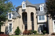 European Style House Plan - 4 Beds 4.5 Baths 4041 Sq/Ft Plan #119-182 Exterior - Other Elevation