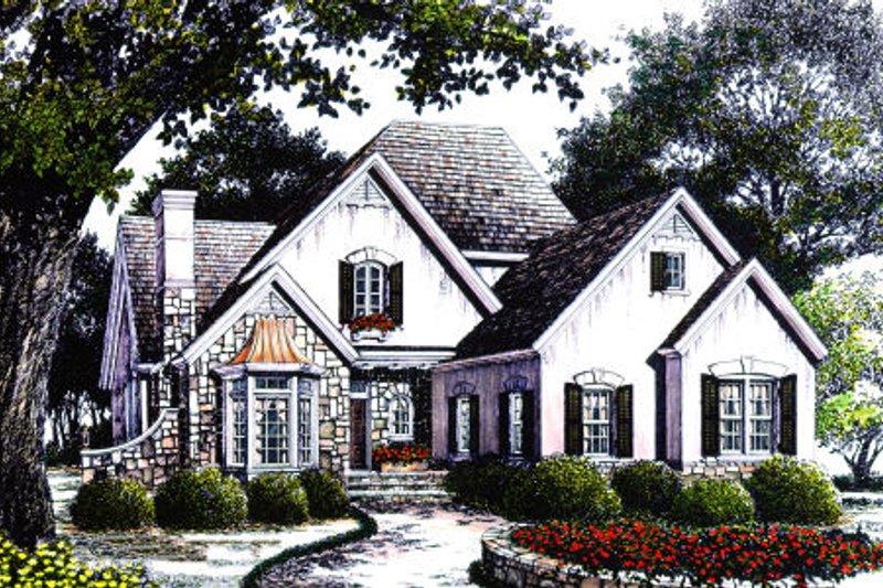 Cottage Exterior - Other Elevation Plan #429-11 - Houseplans.com