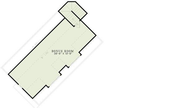 Traditional Floor Plan - Upper Floor Plan Plan #17-2385