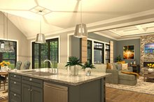 Home Plan - Kitchen/Great Room