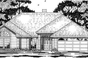 Traditional Exterior - Front Elevation Plan #42-253
