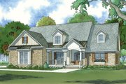 Traditional Style House Plan - 4 Beds 3 Baths 2530 Sq/Ft Plan #923-77 Exterior - Front Elevation