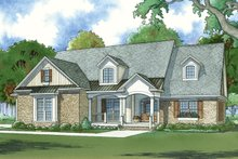 Dream House Plan - Traditional Exterior - Front Elevation Plan #923-77