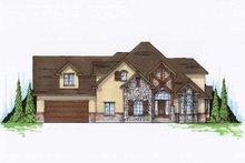 Home Plan - Bungalow Exterior - Front Elevation Plan #5-407