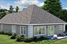 Architectural House Design - European Exterior - Rear Elevation Plan #44-132