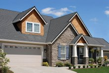 Dream House Plan - Front View - 2300 square foot Traditional home