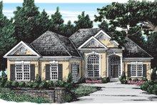 House Design - European Exterior - Front Elevation Plan #927-30