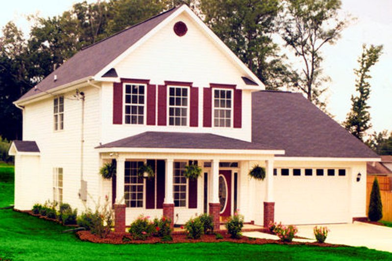 Country Exterior - Other Elevation Plan #48-434 - Houseplans.com