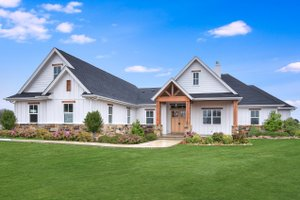 Craftsman Exterior - Front Elevation Plan #430-179