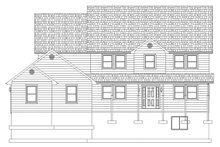 Architectural House Design - Farmhouse Exterior - Front Elevation Plan #1060-1