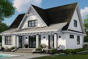 Farmhouse Style House Plan - 4 Beds 3.5 Baths 2584 Sq/Ft Plan #51-1147 Exterior - Rear Elevation