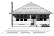 Bungalow Style House Plan - 3 Beds 2 Baths 1353 Sq/Ft Plan #423-55 Exterior - Front Elevation
