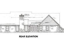 Dream House Plan - European Exterior - Rear Elevation Plan #310-652