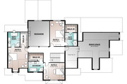 Craftsman Style House Plan - 4 Beds 4.5 Baths 4177 Sq/Ft Plan #23-832 Floor Plan - Upper Floor Plan
