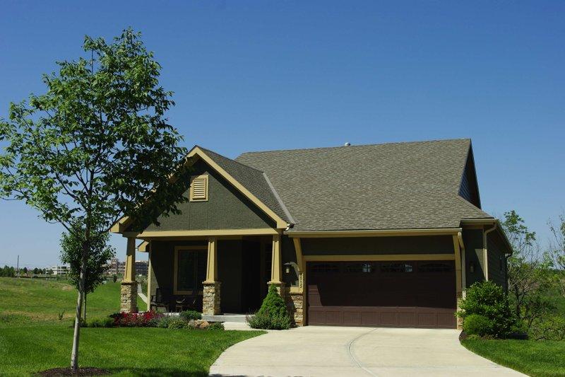 Dream House Plan - Cottage Exterior - Front Elevation Plan #20-2413