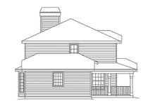 Dream House Plan - Traditional Exterior - Other Elevation Plan #57-154