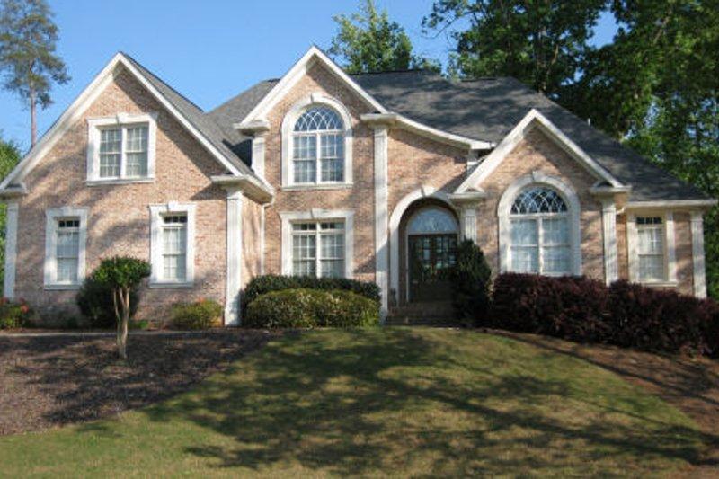 Dream House Plan - European Exterior - Front Elevation Plan #437-36