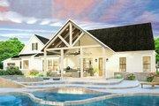 Farmhouse Style House Plan - 3 Beds 2 Baths 2252 Sq/Ft Plan #406-9653 Exterior - Rear Elevation