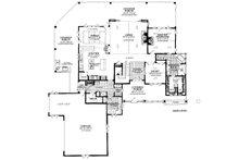 Country Floor Plan - Main Floor Plan Plan #942-56