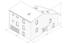 Modern Exterior - Other Elevation Plan #1076-2