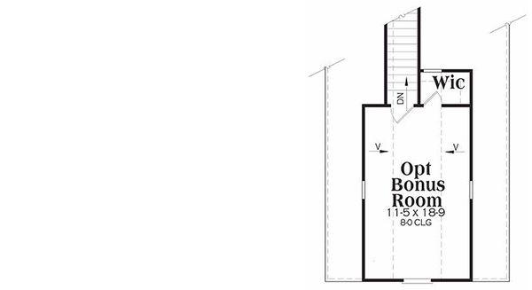 Traditional Floor Plan - Other Floor Plan #419-145