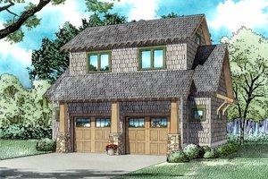 Craftsman Exterior - Front Elevation Plan #17-2578
