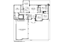 Craftsman Floor Plan - Main Floor Plan Plan #70-1282