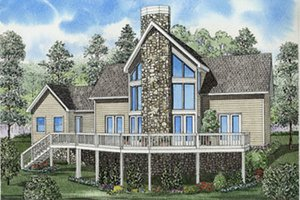 Traditional Exterior - Front Elevation Plan #17-2276