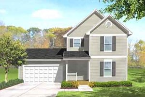 Traditional Exterior - Front Elevation Plan #50-273