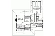 Country Floor Plan - Upper Floor Plan Plan #137-199