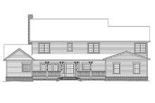 House Plan Design - Farmhouse Exterior - Rear Elevation Plan #11-124