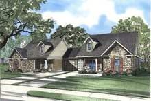 House Plan Design - Traditional Exterior - Front Elevation Plan #17-1068