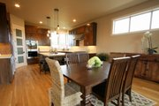 Prairie Style House Plan - 4 Beds 3 Baths 3109 Sq/Ft Plan #124-969 Interior - Dining Room