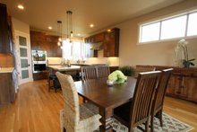 Home Plan - Prairie Interior - Dining Room Plan #124-969
