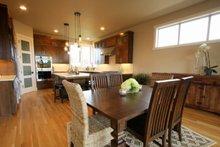 Architectural House Design - Prairie Interior - Dining Room Plan #124-969