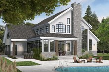 House Plan Design - Traditional Exterior - Front Elevation Plan #23-250