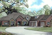House Plan Design - European Exterior - Other Elevation Plan #17-628
