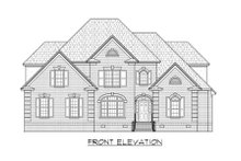 Dream House Plan - Traditional Exterior - Front Elevation Plan #1054-79