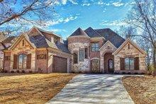 Dream House Plan - European Exterior - Front Elevation Plan #17-2499
