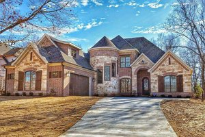 Home Plan - European Exterior - Front Elevation Plan #17-2499
