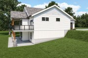 Craftsman Style House Plan - 3 Beds 2.5 Baths 2035 Sq/Ft Plan #1070-124 Exterior - Other Elevation